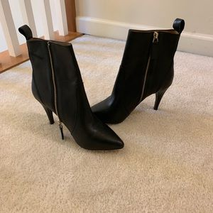Joie black stiletto booties. Women's size 7 1/2
